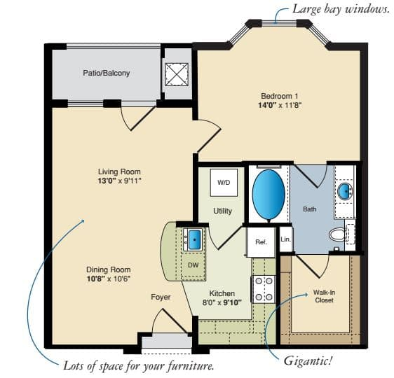 1 Bedroom Apartments For In Baton Rouge La Com